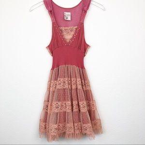 Free People | Boho Festival Sequin Tulle Dress 4